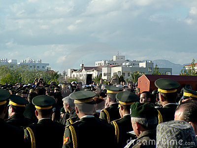 Funeral Ceremony of Rauf Denktas Editorial Photography