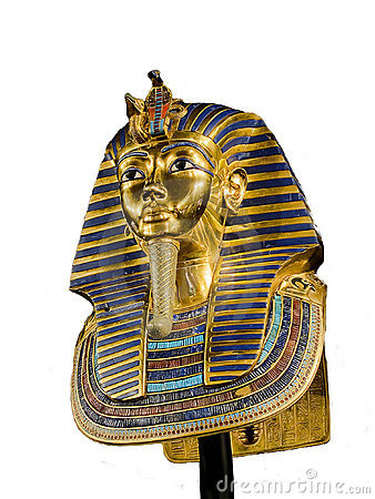 Funeral egyptian mask