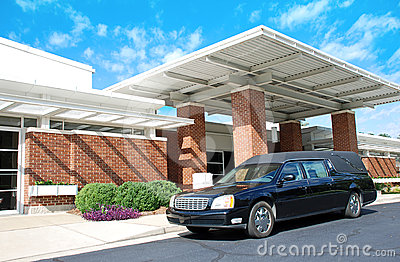 Funeral Home Royalty Free Stock Images - Image: 24468059