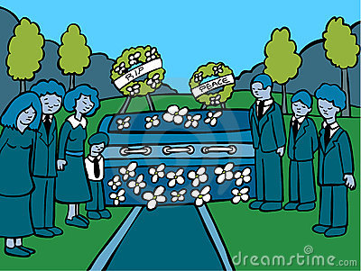 Funeral Service Event - dark