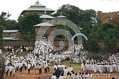 Funeral in Yeha, Ethiopia