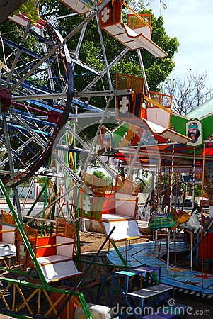 Funfair playground kermis children fun