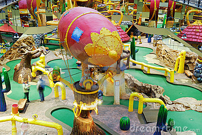 Funfair in west edmonton mall