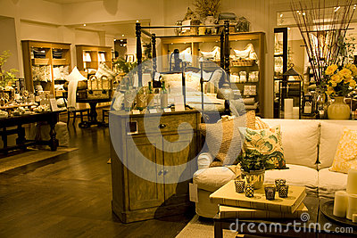 Store Selling Upscale Furniture And Home Decors