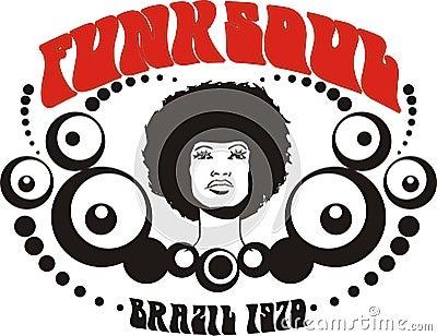 Funk soul Brazil graphic