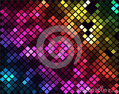 Funkelndes Mosaik