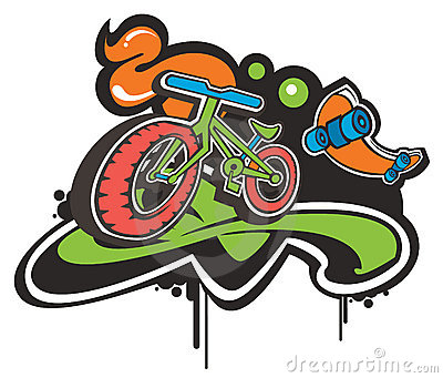 Funky bike