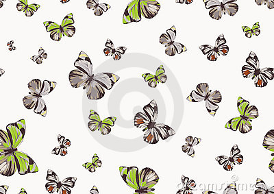 Funky butterflies