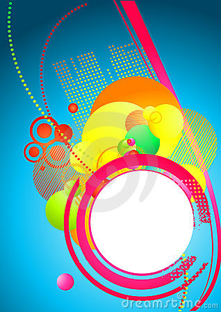Free Funky Colourful Background Royalty Free Stock Photo - 2891735