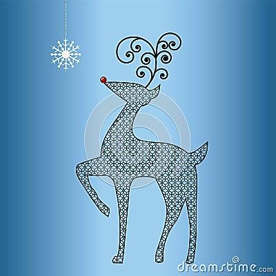 Reindeer cutouts patterns