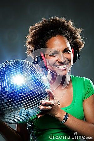 Funky Disco Girl