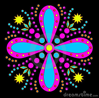 Funky flower