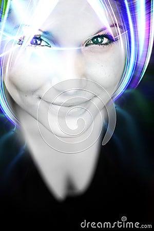 Funky Futuristic Female