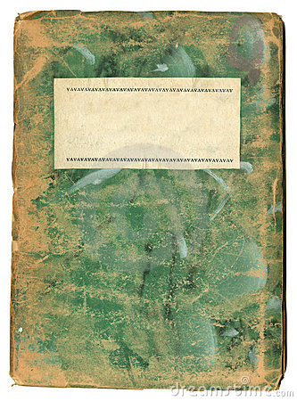 Funky Grungy Art Note Book or journal