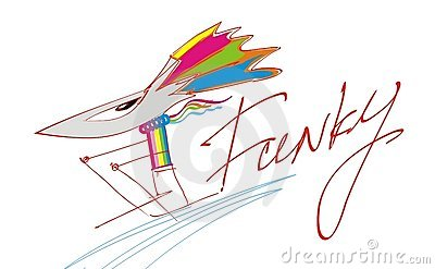 Funky mouse