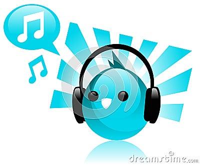 Funky Music Bird