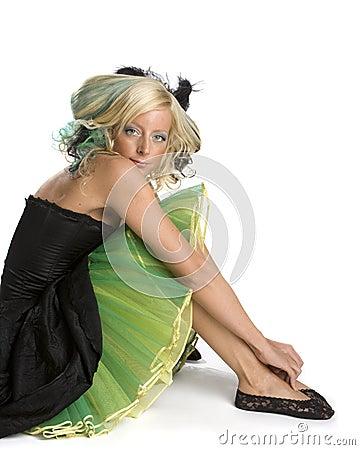 Funky Prom Girl