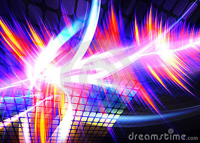 Funky Rainbow Waveform