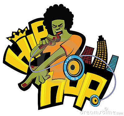 Free Funky Singer Stock Image - 9282251