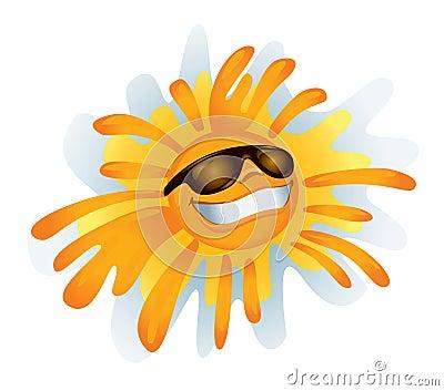 Funky Sun (illustration)