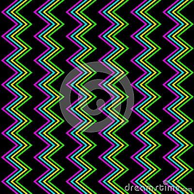 Funky Zig Zag Pattern
