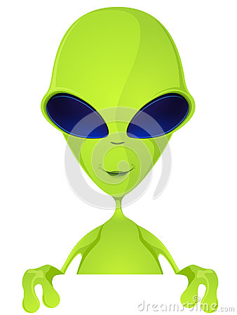 Free Funny Alien Stock Image - 28030791