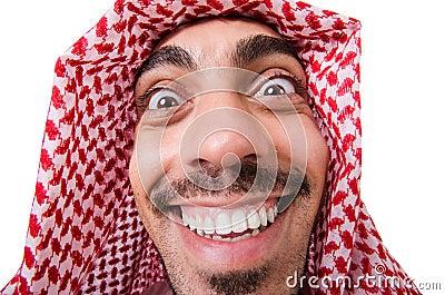 Funny arab man