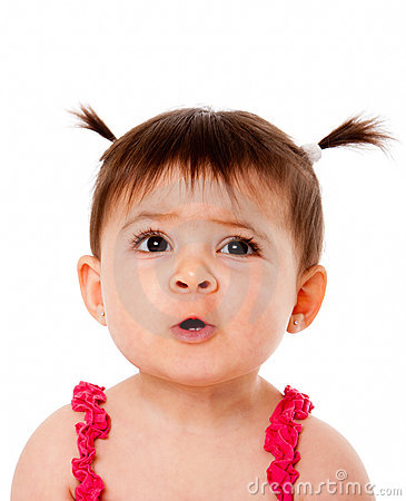 Free Funny Baby Face Expression Stock Photo - 16360090