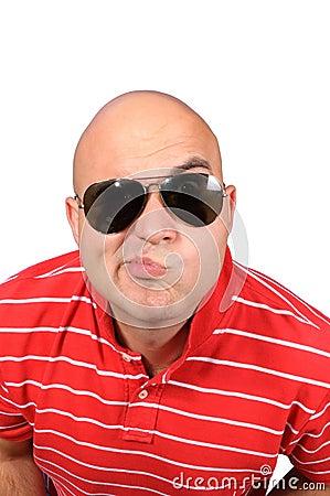 Funny bald