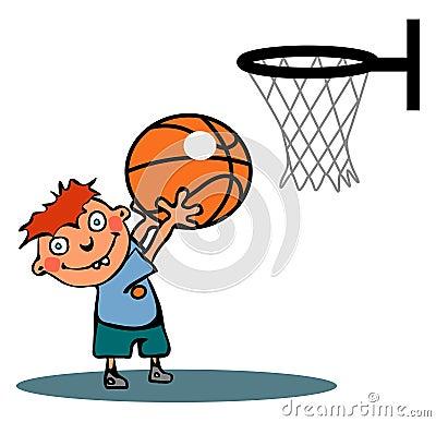 Funny Basketball Boy R...