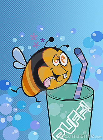 The funny bee