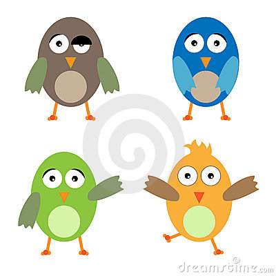 Funny Birds Stock Photography - Image: 13580122