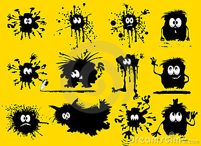 Funny blots
