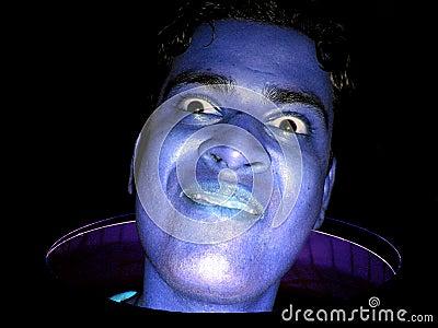 Funny Blue Guy