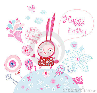 Funny bunny wishes