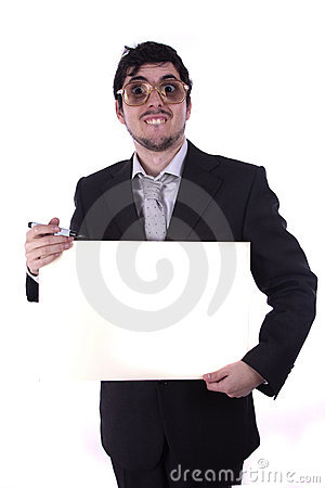 Free Funny Business Man Stock Photos - 16926453