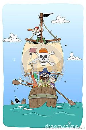 Dangerous pirates
