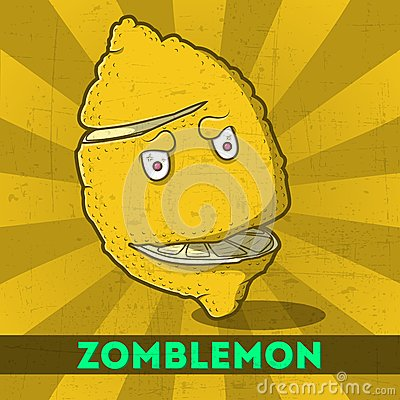 Funny cartoon zomblemon