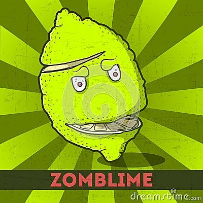 Funny cartoon zomblime