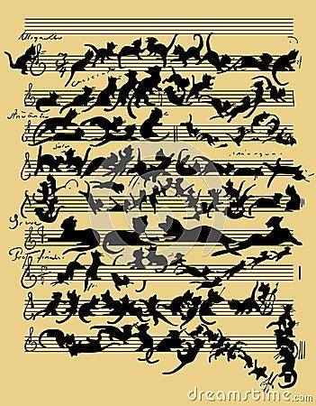 Funny cat music