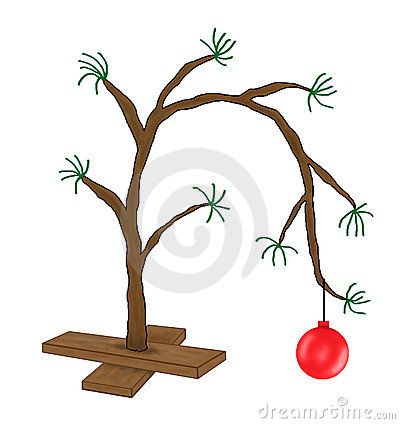 Funny Charlie Brown Christmas Tree Cartoon