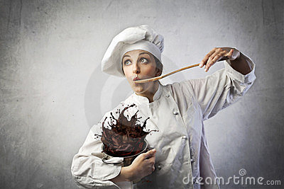 Funny cook