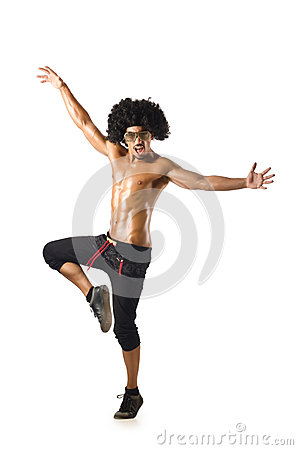 Funny dancer