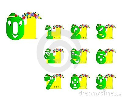Funny digits, cdr vector