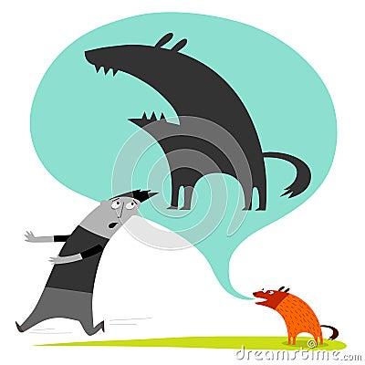 Funny dog barking