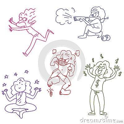 Funny doodles