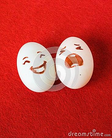 funny eggs emotion mood - photo #37