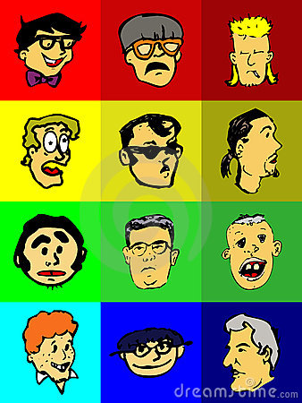 Funny Faces Icons