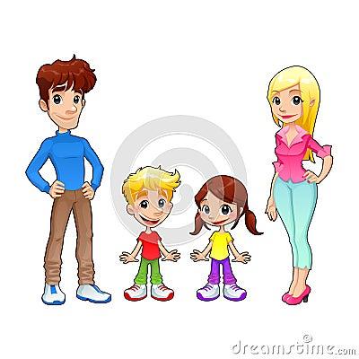 Funny family.