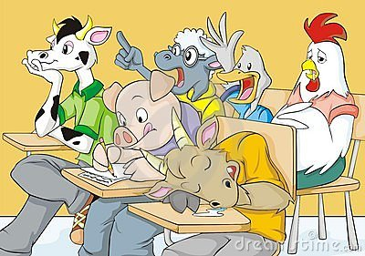 Funny Farm Classroom